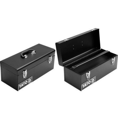 Towar Skrzynka narzędziowa, metalowa 428x180x180 mm YT-0883 z kategorii skrzynki i walizki narzędziowe