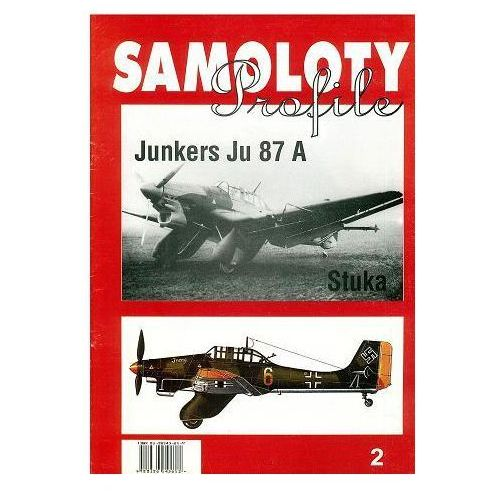 Cb agencja wydawnicza Junkers ju 87a(samoloty profile nr 2)