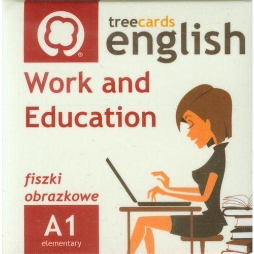 FISZKI Treecards Work and Education A1 Vocabulary - oferta [3552dea47fc38584]