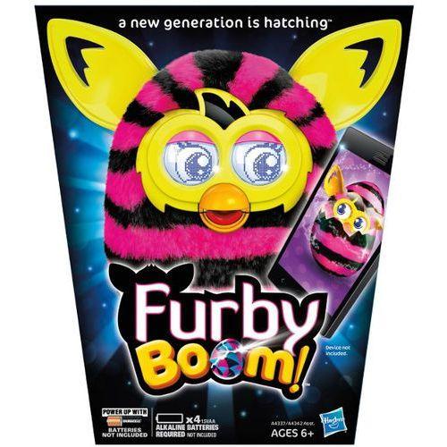 HASBRO Furby Boom Sweet Czarne i różowe (A4342) - produkt dostępny w Puchatkolandia.pl