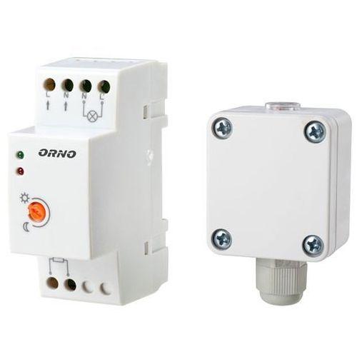 Orno Czujnik automat zmierzchowy na szynę DIN z zewnętrzną sondą w puszce 3000W IP65 / IP20 OR-CR-231 z kategorii oświetlenie