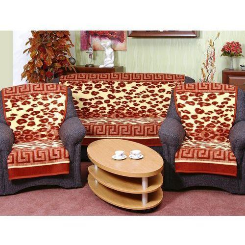 Narzuty Karmela Lampart terra na kanapę i fotele, 150 x 200 cm, 2 ks 65 x 150 cm z kategorii oświetlenie
