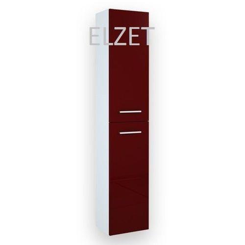 ELITA Kwadro Red słupek 2D z drzwiczkami 164592 - produkt z kategorii- regały łazienkowe