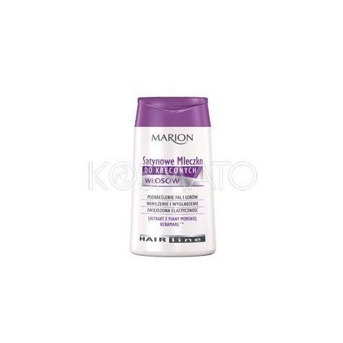 Produkt z kategorii- pozostałe kosmetyki do włosów - Marion Hair Line Włosy Kręcone Mleczko, 120 ml