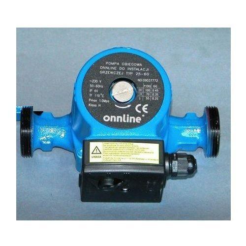 Towar Onnline pompa 25-60 obiegowa do CO kod 16593412 z kategorii pompy cyrkulacyjne