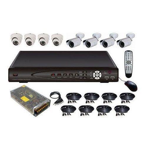 Rejestrator 8-kanałowy+ 8 kamer zewn wewn gwa wyprodukowany przez Kamery