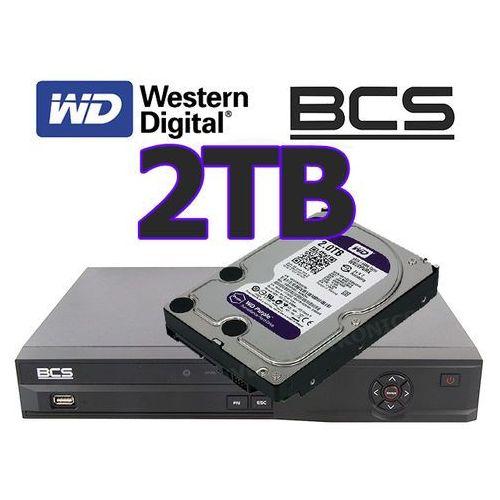 Rejestrator cyfrowy hybrydowy CVI Analogowy IP Sieciowy BCS-CVR0401-III + dysk 2TB
