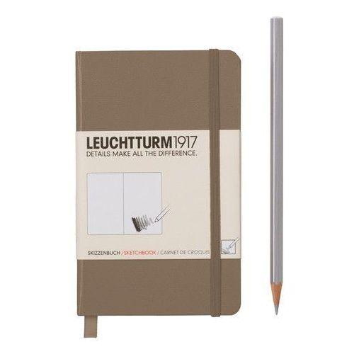 Szkicownik Pocket Leuchtturm1917 gładki szarobrązowy 344658 - oferta [25db6e2c752575c9]