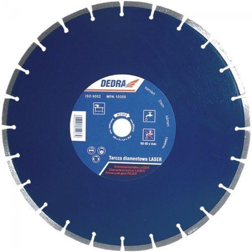 Tarcza do cięcia DEDRA H1163 350 x 25.4 mm Laser Granit diamentowa ze sklepu Media Expert