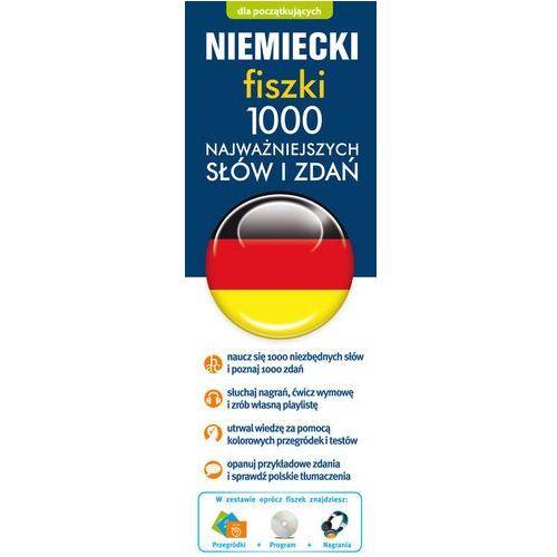 Niemiecki fiszki 1000 najważniejszych słów i zdań + CD - oferta [359e6326755585f1]