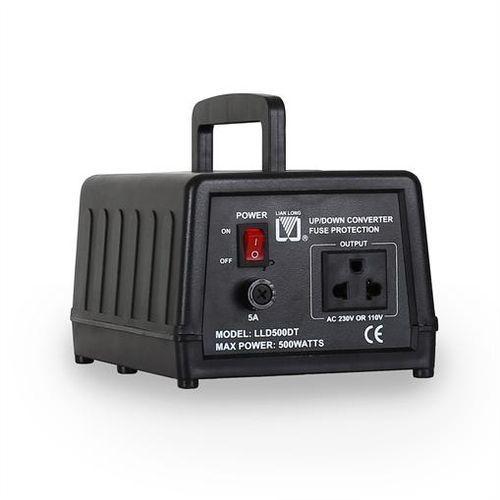 Transformator 110/120 V <-> 220/240 V Lianlong LLD500DT z kategorii Transformatory