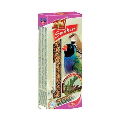 Smakers Kolby ziołowe z algami dla ptaków egzotycznych ZVP-2907 2 sztuki, Vitapol