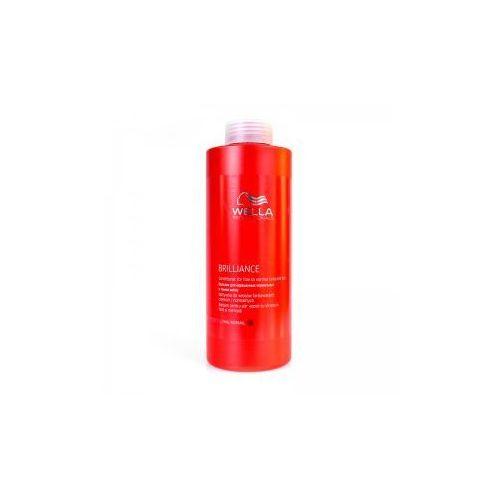Wella Brilliance odżywka do włosów cienkich i normalnych, farbowanych, 1000ml - produkt z kategorii- odżywki do włosów
