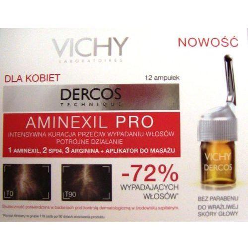 [ampułki] VICHY DERCOS AMINEXIL PRO Kuracja przeciw wypadaniu włosów dla kobiet 12 amp.