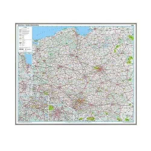 Polska. Mapa ścienna drogowa w ramie 1:800 000 wyd. , produkt marki Eko-Graf