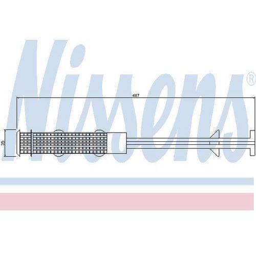 Towar z kategorii: osuszacze powietrza - Osuszacz, klimatyzacja NISSENS 95327