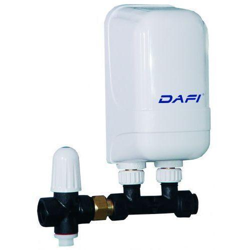 Przepływowy ogrzewacz wody dafi 9 kw z przyłączem, marki Formaster