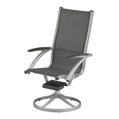 Krzesło obrotowe aluminiowe srebrne Avantgarde Kettler ze sklepu Garden4you.pl