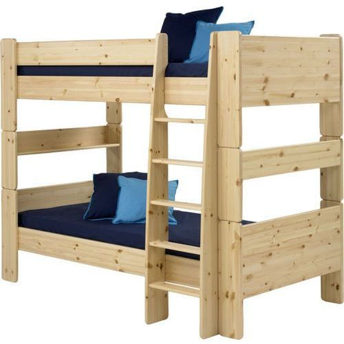 Łóżko piętrowe podwójne Steens for kids - sosna lakierowana ze sklepu Meble Pumo