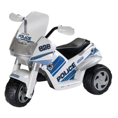 PEG PEREGO Motor trójkołowy na akumulator Raider Police ze sklepu Mall.pl