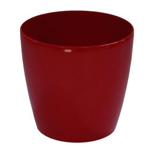 Doniczki ozdobne-plastikowe Lobelia Classic rozm. 20 czerwona, produkt marki Patrol