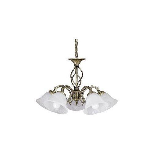 Artykuł ŻYRANDOL klasyczna OPRAWA wisząca LAMPA BECKWORTH Rabalux 7135 IP20 patyna biały z kategorii lampy wiszące