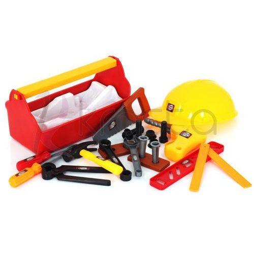 Towar SKRZYNKA Z NADZĘDZIAMI 22 elementy +KASK Gratis z kategorii skrzynki i walizki narzędziowe