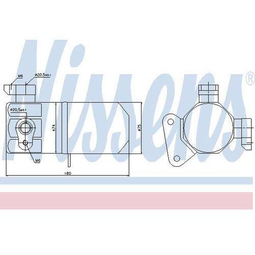 Towar z kategorii: osuszacze powietrza - Osuszacz, klimatyzacja NISSENS 95432