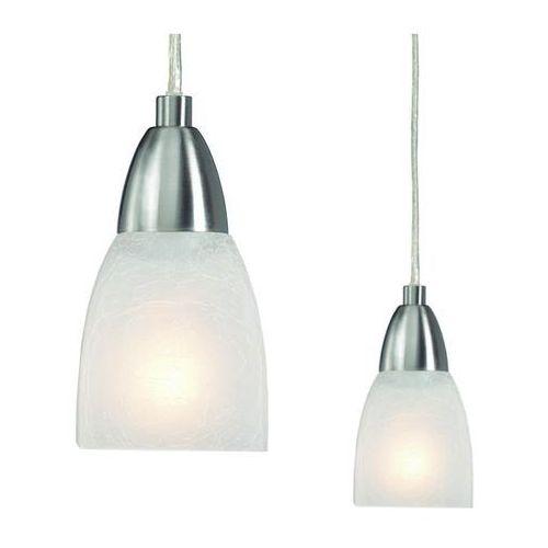 Nowoczesna LAMPA wisząca ZWIS do salonu BRAGO Markslojd 208912 wzorki stal biały - sprawdź w MLAMP.pl - Rozświetlamy Wnętrza