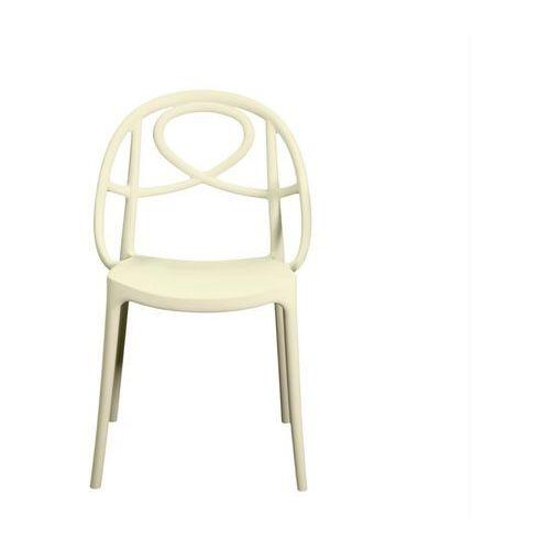Krzesło ogrodowe Green Etoile białe ze sklepu All4home