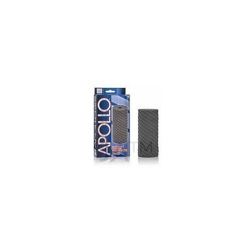 Apollo Reversible Premium Masturbator Twist Grey Masturbator dwustronny szary - oferta [05f826771711469a]
