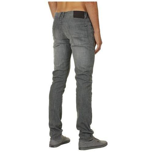 jeansy Quiksilver Distorsion Gray Used - BSKW/Heavy Used - produkt z kategorii- spodnie męskie