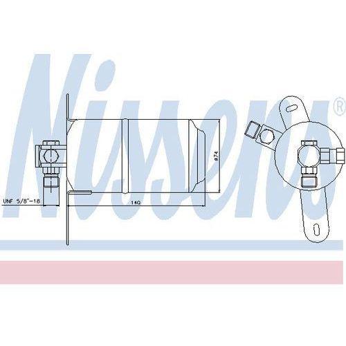 Towar z kategorii: osuszacze powietrza - Osuszacz, klimatyzacja NISSENS 95184