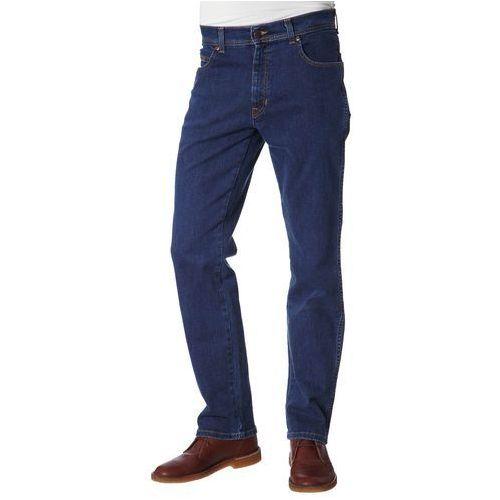 Produkt z kategorii- spodnie męskie - Wrangler TEXAS STRECH Jeansy Straight leg niebieski