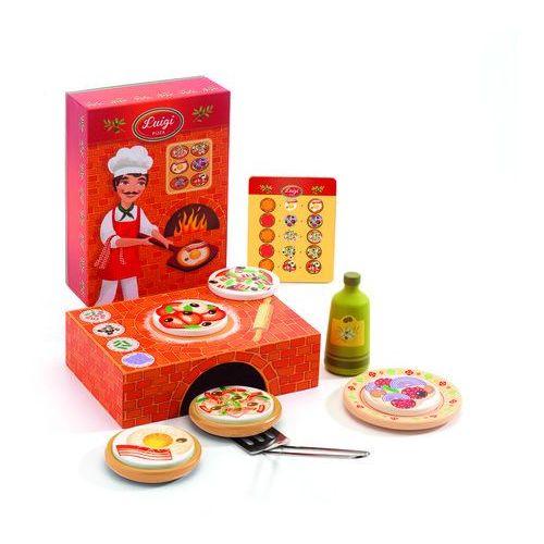 Zestaw Pizzeria Luigi Djeco DJ06637 oferta ze sklepu tublu.pl
