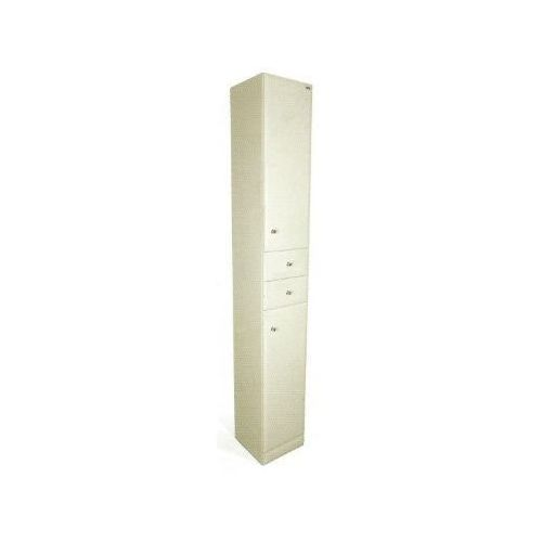 Produkt z kategorii- regały łazienkowe - Lawabo słupek łazienkowy z MDF 40x31x200 cm wysoki S6 z drzwiczka