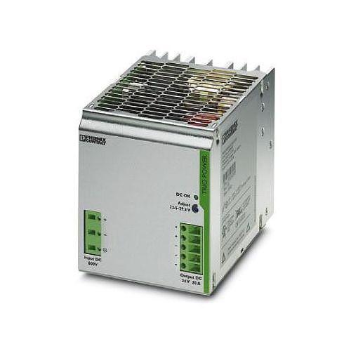 Zasilacz na szynę DIN Phoenix Contact TRIO-PS/600DC/24DC/20 2866530, 24 V/DC 20 A z kategorii Transformatory