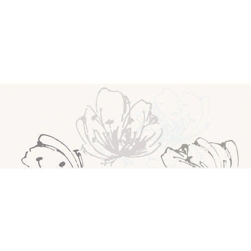 Oferta Midian Bianco inserto Kwiat 20x60 (glazura i terakota)