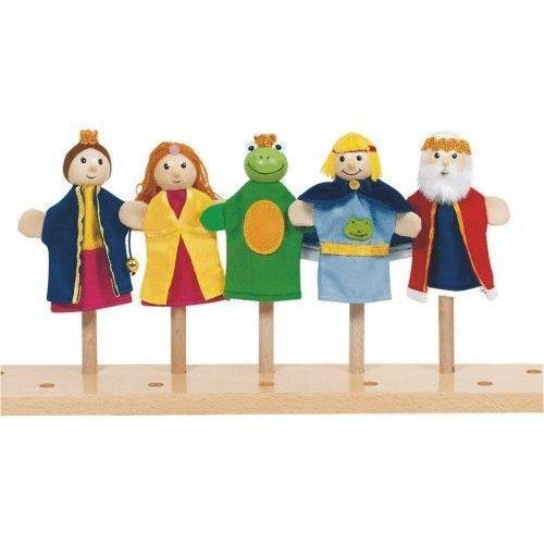 Zestaw pacynek na palec dla dzieci - Zaczarowana Księżniczka (pacynka, kukiełka)