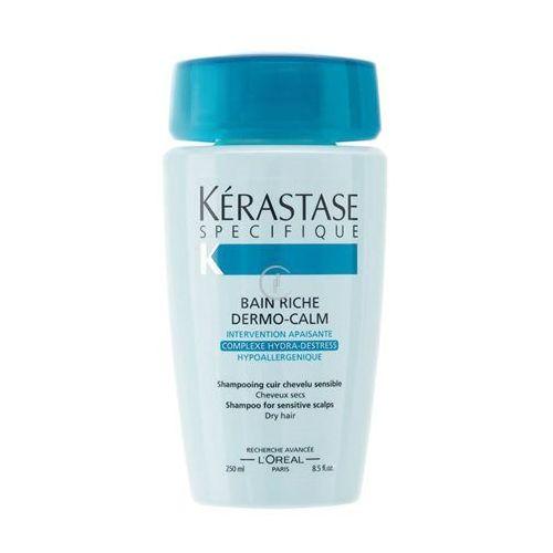 Kerastase SPECIFIQUE BAIN RICHE DERMO-CALM Wzbogacona kąpiel kojąca do włosów suchych (250 ml) - produkt z kategorii- odżywki do włosów