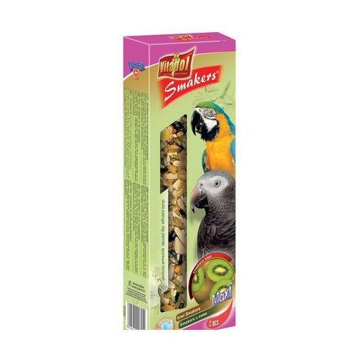 Smakers Kolby Maxi kiwi dla dużych papug 2 sztuki, Vitapol