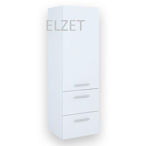 ELITA Kwadro White słupek 162328 - produkt z kategorii- regały łazienkowe