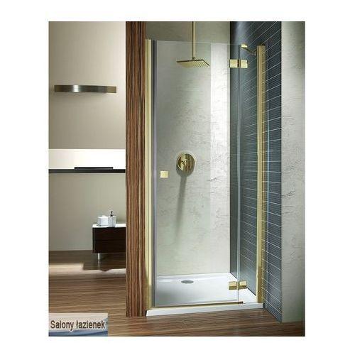 Oferta Drzwi wnękowe 120 Almatea DWJ Gold Radaway (31502-09-01N) (drzwi prysznicowe)
