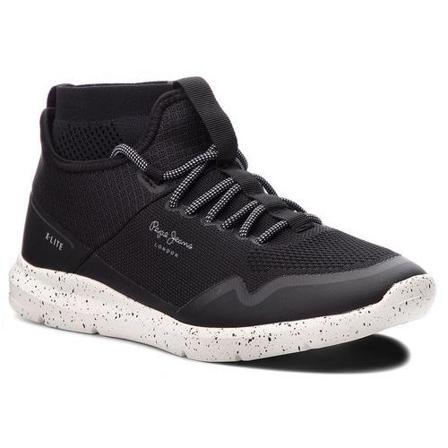 5cd9630a6909f Sneakersy PEPE JEANS - Wade Knitsock PMS30492 Black 999